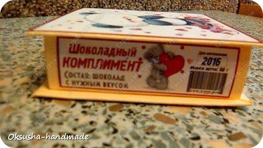 Шоколадный комплимант для любителей пандочек) фото 3