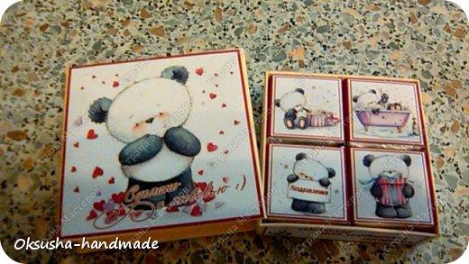 Шоколадный комплимант для любителей пандочек) фото 5