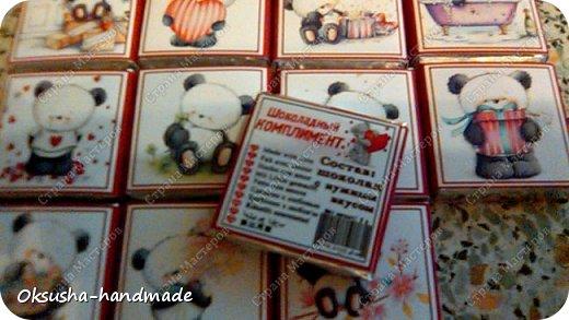 Шоколадный комплимант для любителей пандочек) фото 9