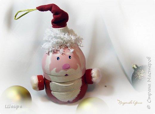 Дед Мороз 20 см с шапочкой.  фото 5