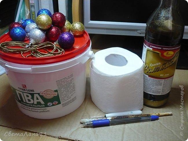 Доброе утро Всем! Хочу показать МК по созданию новогодней ёлочки-подвески. Длина такой ёлочки 27см, ширина 25 см. фото 3