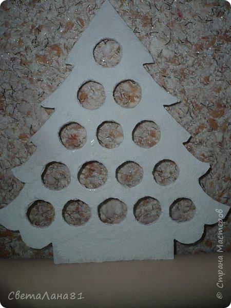 Доброе утро Всем! Хочу показать МК по созданию новогодней ёлочки-подвески. Длина такой ёлочки 27см, ширина 25 см. фото 7