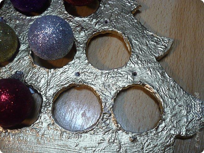 Доброе утро Всем! Хочу показать МК по созданию новогодней ёлочки-подвески. Длина такой ёлочки 27см, ширина 25 см. фото 9