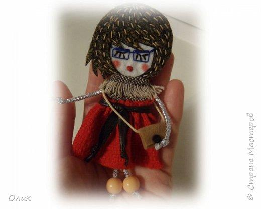 Очень модный тренд сезона куколки - брошки ручной работы. фото 1