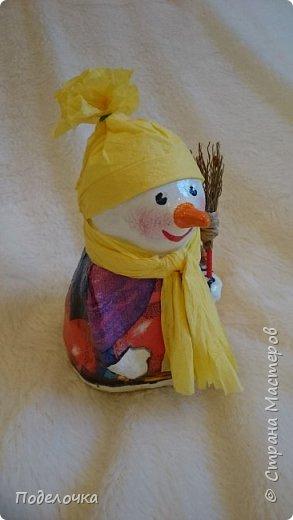 Снеговички на ёлку  фото 4