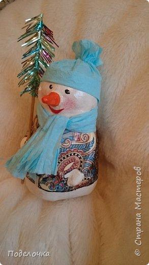 Снеговички на ёлку  фото 3