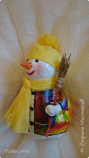 Снеговички на ёлку  фото 2
