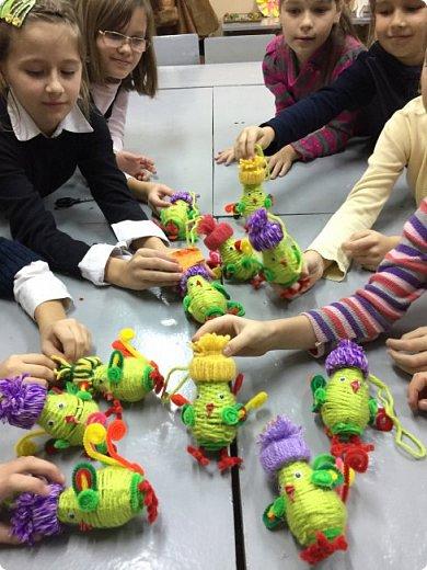 Роботы детей выполненные по мк http://stranamasterov.ru/node/1062283?k=all&u=4507  фото 4