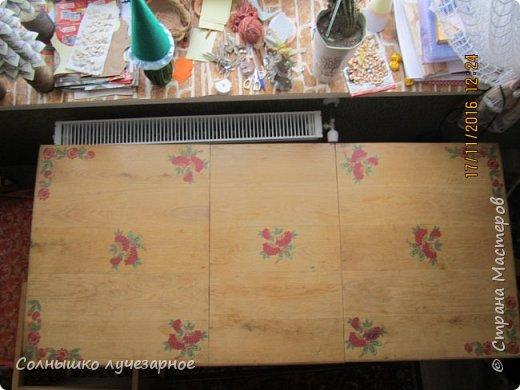 ну вот, теперь стол и стулья создают комплект. а еще двери на очереди.... фото 2