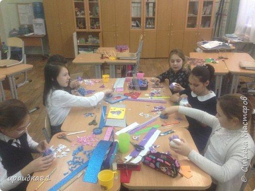 Новогодний шар на ёлку ( 4 класс) фото 4