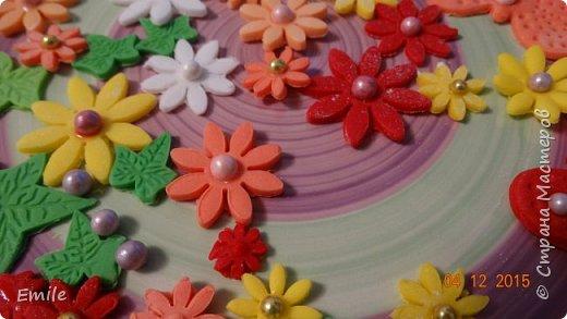 Заготовки цветов  и листочков для украшения торта фото 1