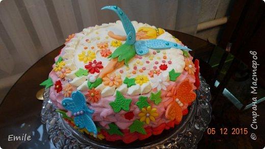 Заготовки цветов  и листочков для украшения торта фото 4