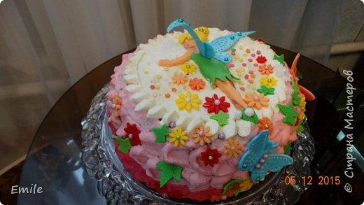 Заготовки цветов  и листочков для украшения торта фото 5