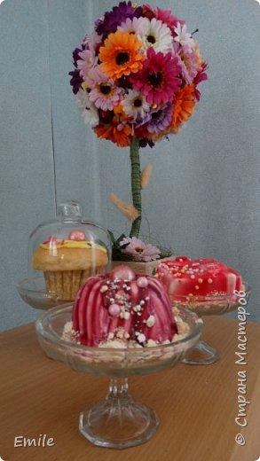 Муссовое пирожное с зеркальной глазурью фото 7