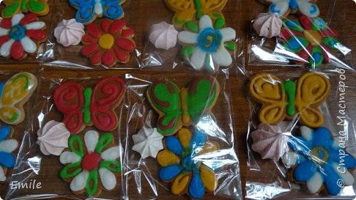 Рождественское имбирное печенье с карамельным витражем фото 6
