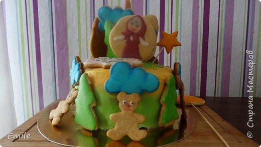 Рождественское имбирное печенье с карамельным витражем фото 7