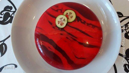 Муссовое пирожное с зеркальной глазурью фото 17