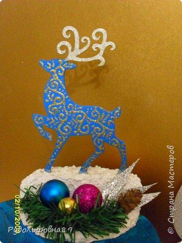 Новогодние интерьерные игрушки. Можно и на камин поставить, и в кабинете на столе будут смотреться не плохо. фото 2