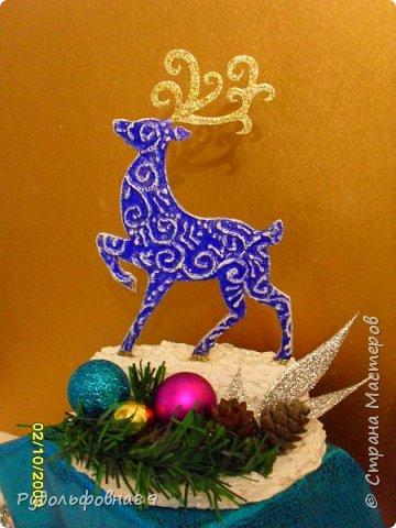 Новогодние интерьерные игрушки. Можно и на камин поставить, и в кабинете на столе будут смотреться не плохо. фото 4