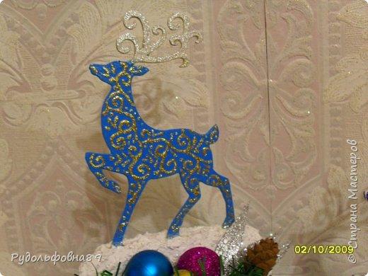 Новогодние интерьерные игрушки. Можно и на камин поставить, и в кабинете на столе будут смотреться не плохо. фото 3