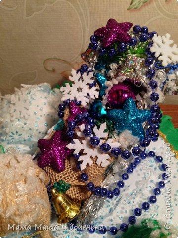 """Всем доброго времени суток, я к вам с очередным своим творением)))) В прошлом году мы  с дочкой делали новогоднего оленя http://stranamasterov.ru/node/976603 , и вот в этом году одна моя хорошая знакомая попросила   ей тоже  сделать """"Новогоднего оленя""""  фото 4"""