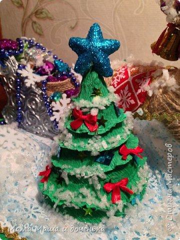 """Всем доброго времени суток, я к вам с очередным своим творением)))) В прошлом году мы  с дочкой делали новогоднего оленя http://stranamasterov.ru/node/976603 , и вот в этом году одна моя хорошая знакомая попросила   ей тоже  сделать """"Новогоднего оленя""""  фото 5"""
