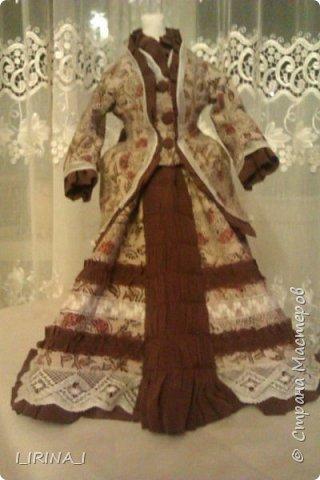 платье кукле 19 века  фото 1