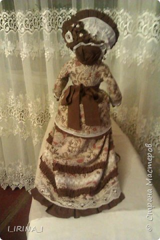платье кукле 19 века  фото 2