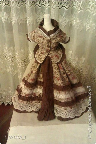 платье кукле 19 века  фото 3