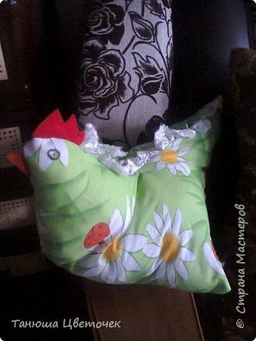 Петух и курица -подушки фото 2