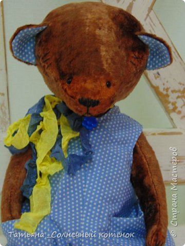 Тедди-мишка Трюфель фото 2