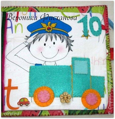 Всем привееет!! Вот и завершена работа над развивающей книгой для маленькой девочки Евы! Ева - очень особенный ребенок! К сожалению, она не имеет возможности видеть((( Но с дополнениями ее заботливой мамы Татьяны, мы создали очень интересную, обучающую супер тактильную книгу!  Ладошки расшиты бисером для массажа маленьких ручек! фото 14
