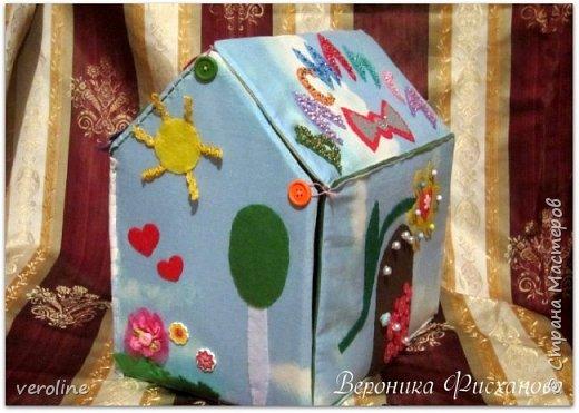 Мягкий домик сумка фото 6