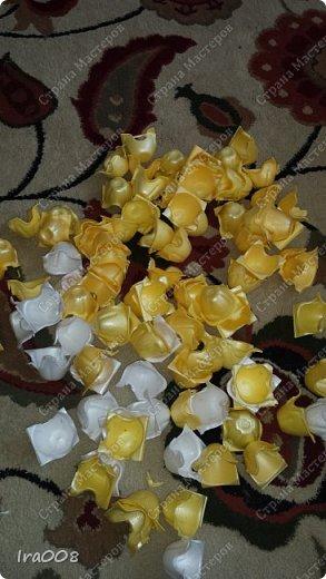 Елка из яичных лотков. фото 3