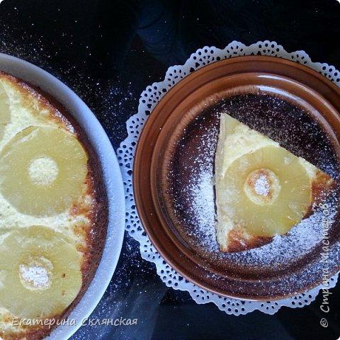 Творожная запеканка с ананасом фото 1