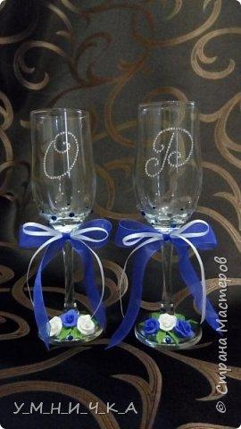 Вот такие бутылочки получились к свадьбе коллеги фото 3