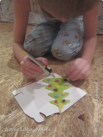 """Здравствуйте! Сегодня сын делал поделку для участия в конкурсе """"Новогодний серпантин"""". Решил сделать символ 2017 года -Петушка.  фото 4"""