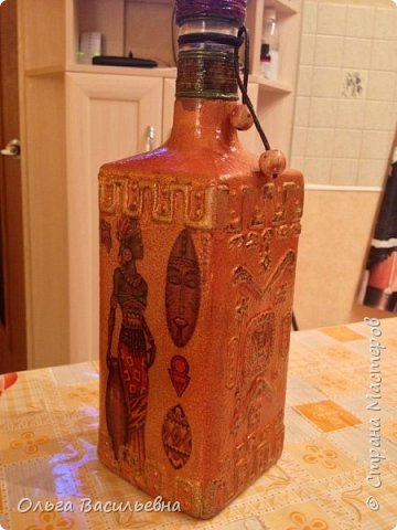 """бутылка """"Африка"""" фото 1"""