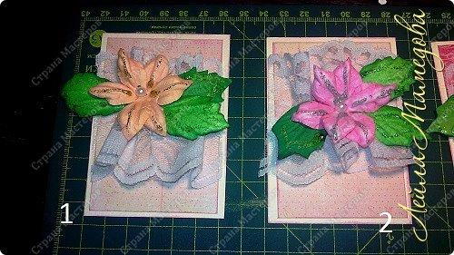 """Запоздала я на этой неделе со своими карточками! В честь праздника всех Мам, я решила подарить цветы. Серия называется """"Цветы для Мам"""". Пусть будут счастливы все-все Мамы!!!! Старалась выдержать заданный скетч. фото 2"""