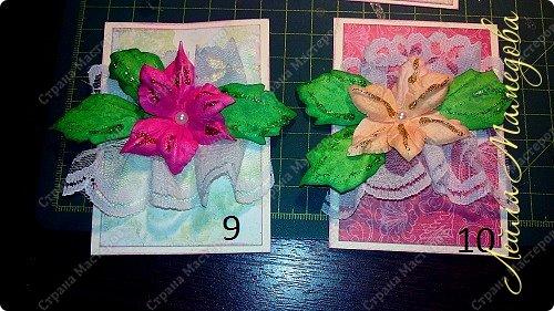 """Запоздала я на этой неделе со своими карточками! В честь праздника всех Мам, я решила подарить цветы. Серия называется """"Цветы для Мам"""". Пусть будут счастливы все-все Мамы!!!! Старалась выдержать заданный скетч. фото 6"""