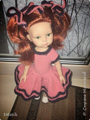 Одежда крючком для кукол Paola Reina фото 6