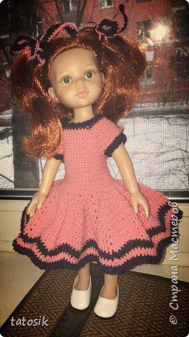 Одежда крючком для кукол Paola Reina фото 5