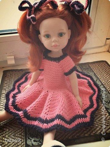 Одежда крючком для кукол Paola Reina фото 4