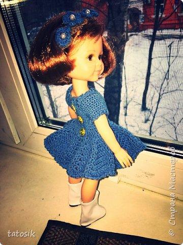 Одежда крючком для кукол Paola Reina фото 3