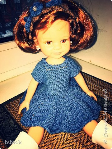 Одежда крючком для кукол Paola Reina фото 2