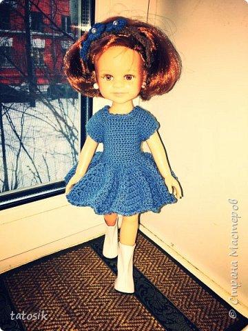 Одежда крючком для кукол Paola Reina фото 1