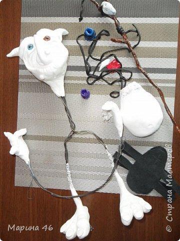 И снова....здравствуйте!Моё продолжение лепки, из полимерной глины.Знакомтесь-домашний ДУХ)))Охраняет дом,помогает по хозяйству.Любит конфеты)))Существо симпатиШное и доброе. фото 3