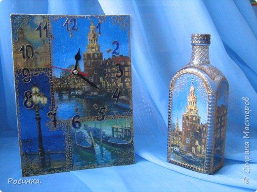 Бутылка интерьерная новогодняя №1 фото 7
