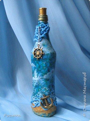 Бутылка интерьерная новогодняя №1 фото 11