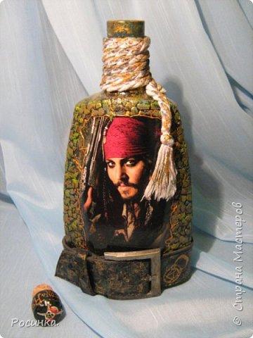Бутылка интерьерная новогодняя №1 фото 15
